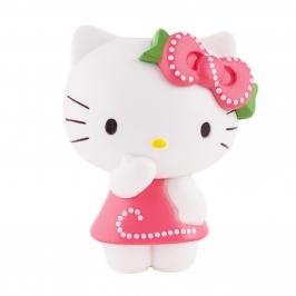 Figura para tartas Hello Kitty con vestido rosa - My Karamelli