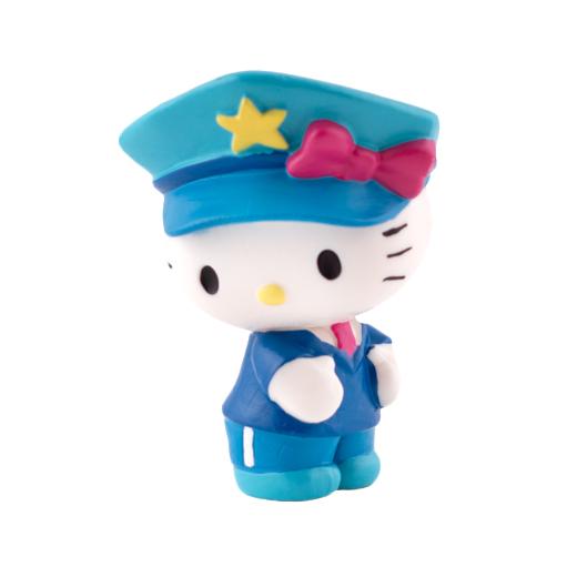 Figura para Tartas Hello Kitty Policía - My Karamelli