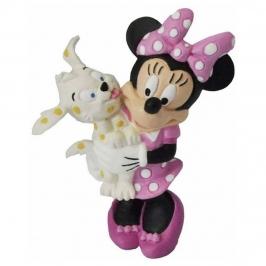 Figura para Tartas Minnie con Cachorro 7 cm