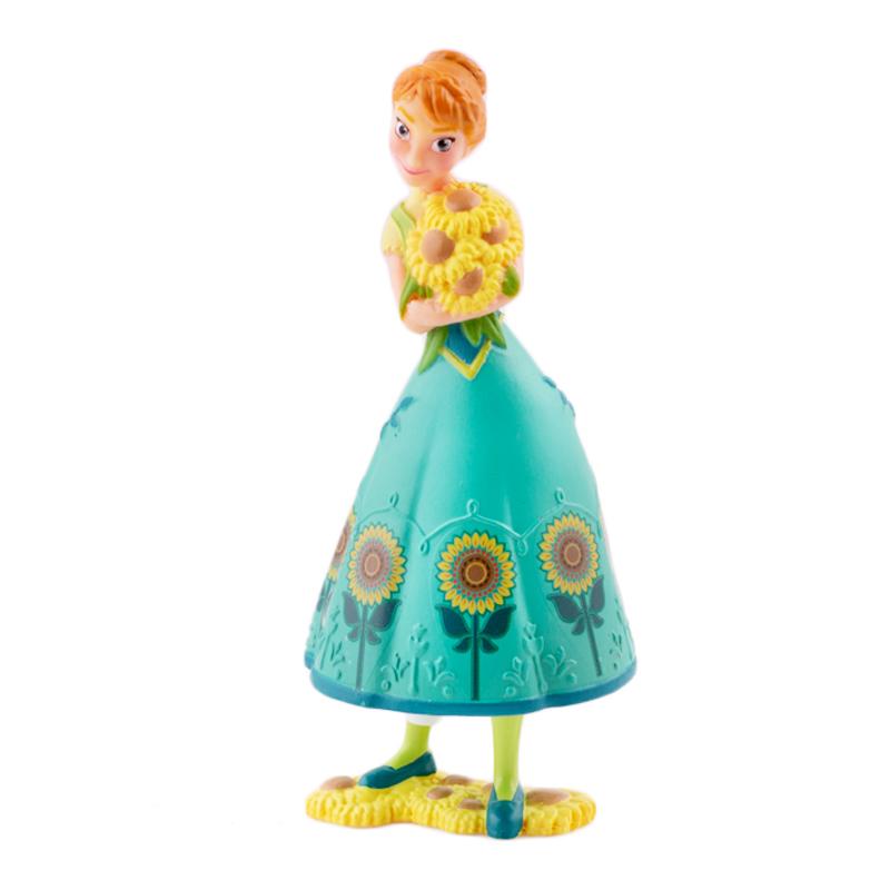 Figura para tartas vestido verde Anna