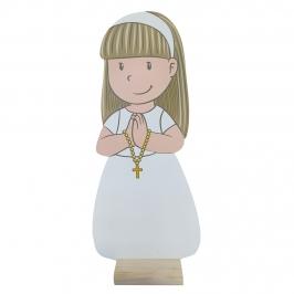 Figura Comunión Niña Clara 18 cm