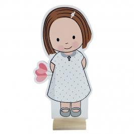 Figura Comunión Niña Emma 18 cm