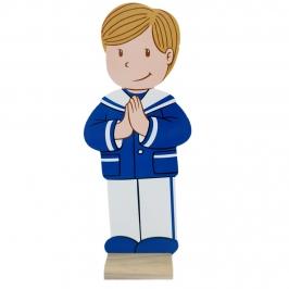 Figura Comunión Niño Cristian 18 cm