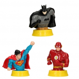 Set 3 Figuras la Liga de la Justicia