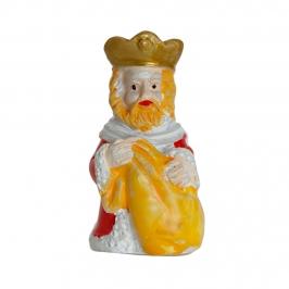 Figurita Roscón de Reyes Rey Gaspar Lujo