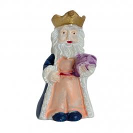 Figurita Roscón de Reyes Rey Melchor Lujo