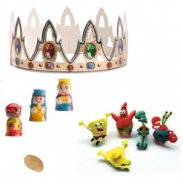 Figuritas roscón de Reyes Bob Esponja