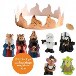 Figuritas Roscón de Reyes Guerra Galáctica 8 piezas
