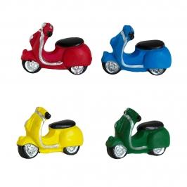 Figuritas Roscón de Reyes Motocicletas 4 unidades