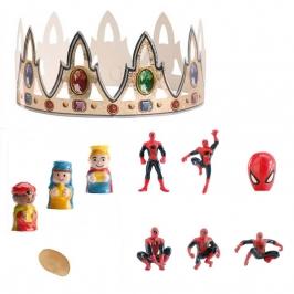 Figuritas roscón de reyes Spiderman