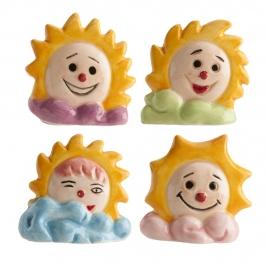 Figuritas Roscón de Reyes Soles 4 ud