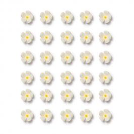 Flores de azúcar Blancas pequeñas