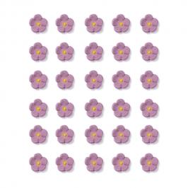 Flores de Azúcar Lilas Pequeñas - My Karamelli