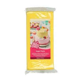 Fondant Funcakes amarillo 1Kg