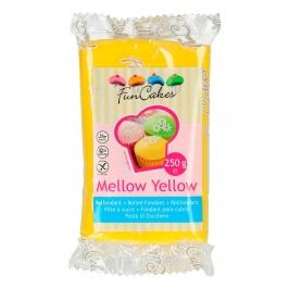 Fondant Funcakes amarillo 250gr