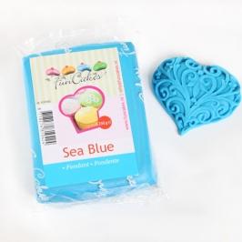 Fondant Funcakes color azul Océano 250gr