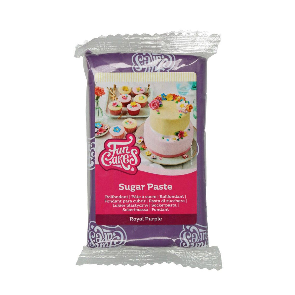 Fondant Funcakes Color Violeta 250gr