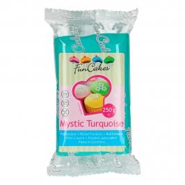 Fondant Funcakes turquesa 250 gr