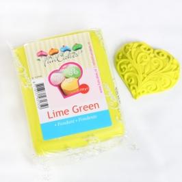 Fondant Funcakes color verde Lima
