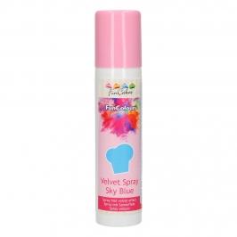 Spray Efecto Terciopelo Azul 100 ml