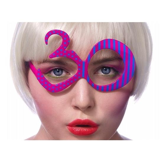 Gafas 30 Cumpleaños Fucsias