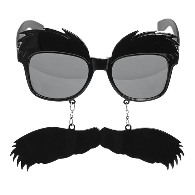 Gafas con Cejas y Bigote