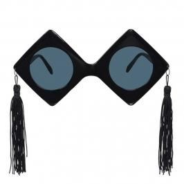 Gafas de plástico de graduación con forma de birretes