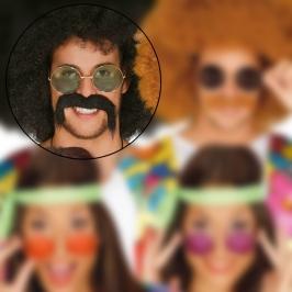 Gafas Hippie Verde