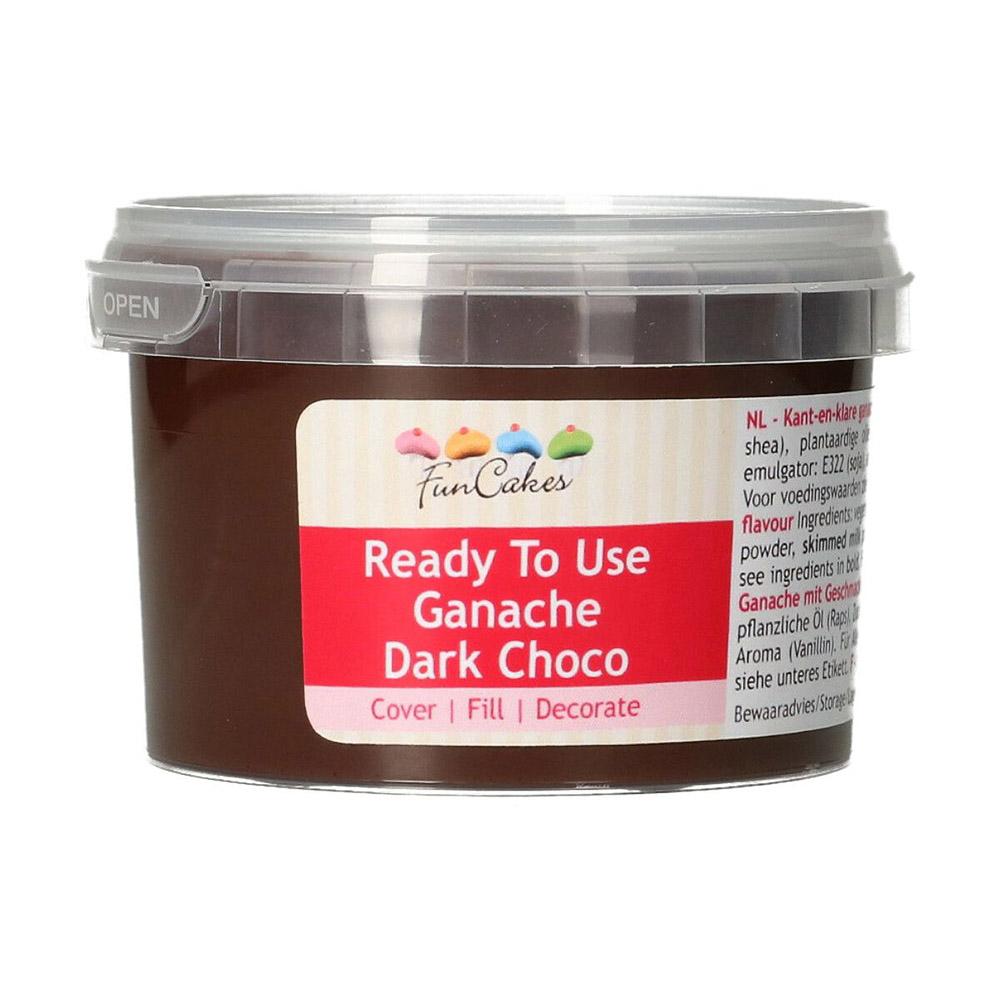 Ganache de Chocolate Negro Listo para Usar 260 gr