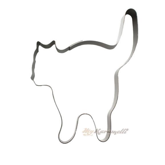 Cortador gato negro 9 cm