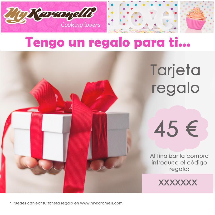 Tarjeta regalo 45 €