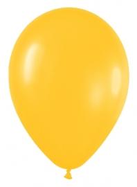 Pack de 10 globos amarillo girasol