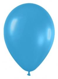Pack de 10 globos azul neon