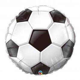 Globo Balón de Fútbol Foil 90 cm