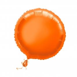 Globo Circular Naranja 45 cm