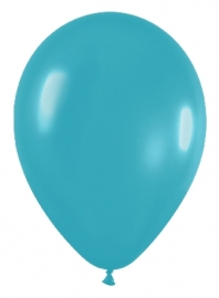 Pack de 10 globos de látex color turquesa