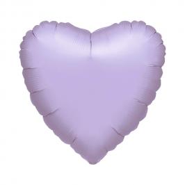 Globo Corazón Lila Gigante 80 cm