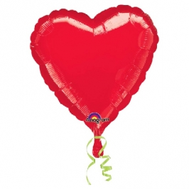 Globo con forma de corazón