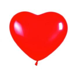 Globos con Forma de Corazón Rojo 10 Unidades