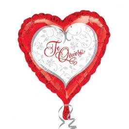 Globo Corazón Te quiero 45 cm