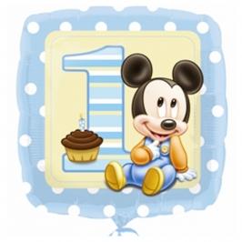 Globo de Foil 1er año Mickey Mouse