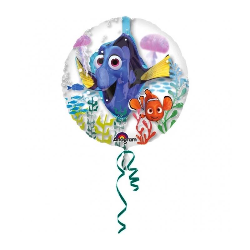 Globo de Foil buscando a Dory 60cm