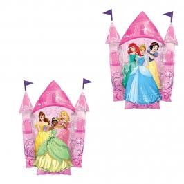 Globo de Foil Castillo Princesas Disney