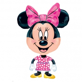 Globo de foil de Minnie Mouse Air Walker de 76 cm
