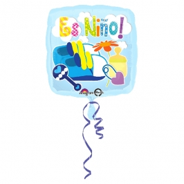 Globo de Foil Es Niño!