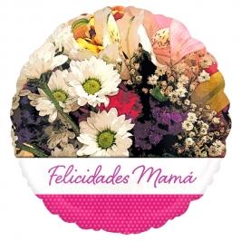 Globo de Foil Felicidades Mamá