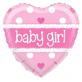 Globo de foil Holográfico Baby Girl