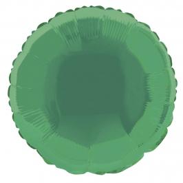 Globo de foil Redondo Verde 45 cm