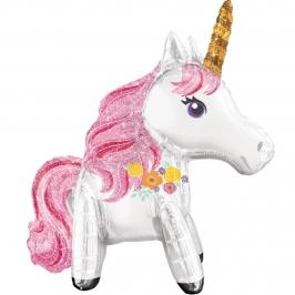 Globo de Foil Unicornio Mágico 60 cm