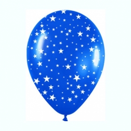 Bolsa de 10 globos Estrellas